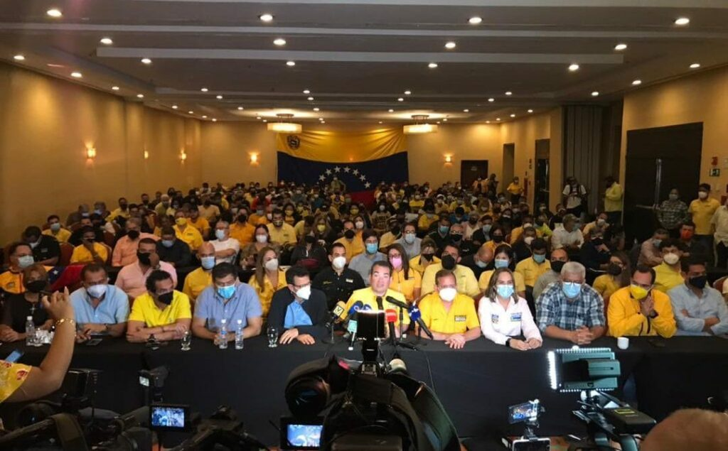 Primero Justicia retiraron su apoyo a Juan Guaidó