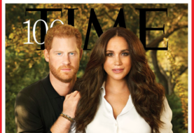 Meghan Markle y el principe Harry en la portada del Time