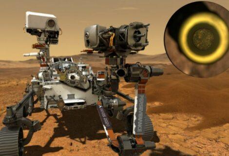 Rover Perseverance recoge la primera muestra de Marte