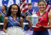 Raducanu y Fernández mejoran su posición en el ranking de la WTA