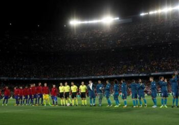 El Clásico entre Barcelona y Real Madrid será el 24 de octubre