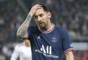 Messi sufre lesión y no estará en el próximo partido