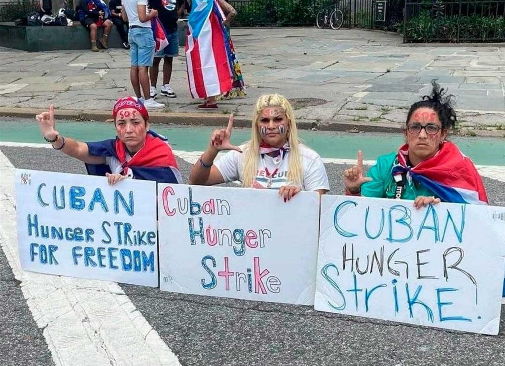 Activistas cubanas ponen fin a su huelga de hambre