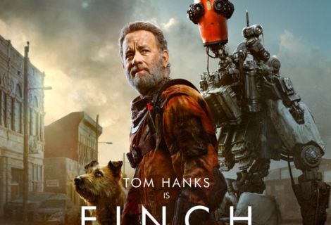 Tom Hanks sobrevive al Apocalipsis con un perro y un robot