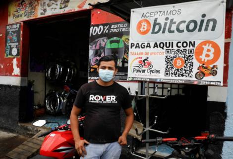 El Salvador hace legal de Bitcoin como moneda