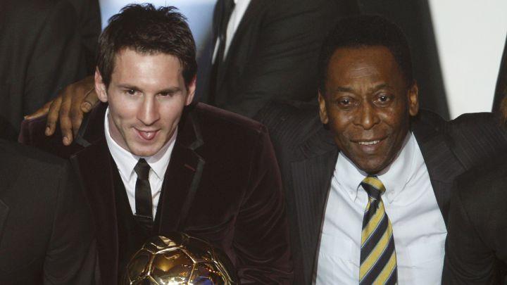 Messi superó el récord de Pelé y es el máximo goleador sudamericano