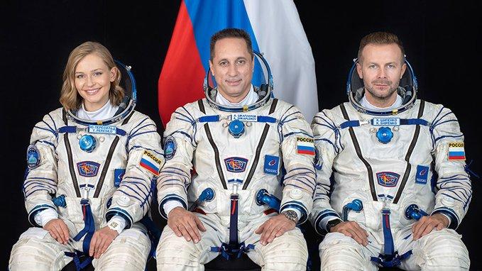 Soyuz MS-19 afinan detalles para rodar cinta en el espacio