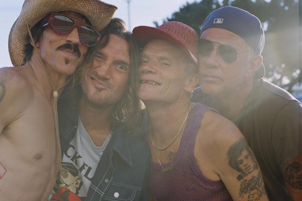 Red Hot Chili Peppers anuncia una gira mundial