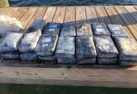 Hallan en el mar 1,2 millones de dólares en cocaína