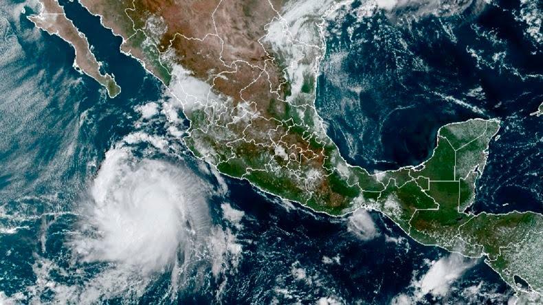 Pamela causa daños menores tras su paso por México